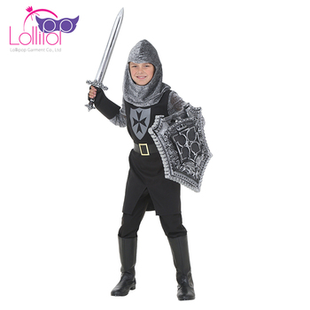 Halloween carnival costume child black knight cosplay kids halloween carnival outfits