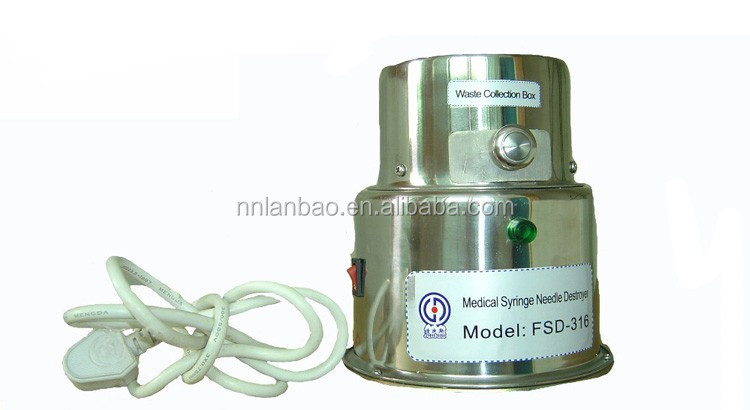 Needle destroyer from namufacturer FSD-316