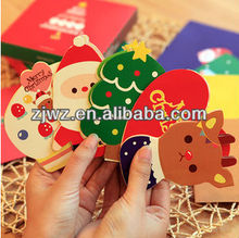 2013 New Style christmas paper card