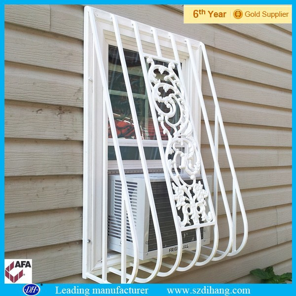 antique window grill, interior security window grill