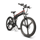 21 speed electric bike 48V 350W folding ebike lithium battery electric bicycle