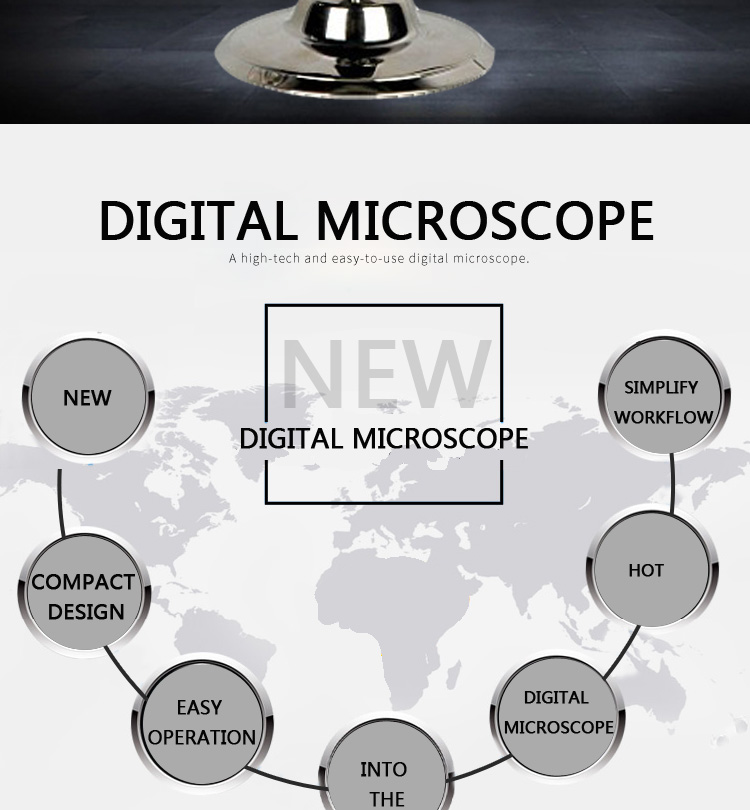 200X TV Digital Microscope with tv out