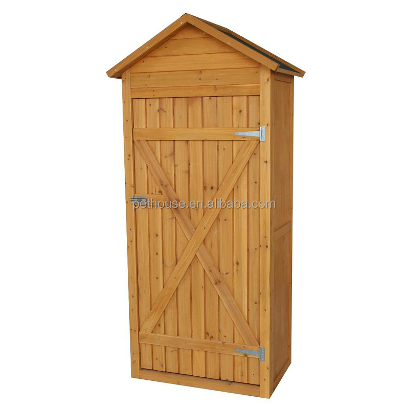 Outdoor Wood Storage Cabinets