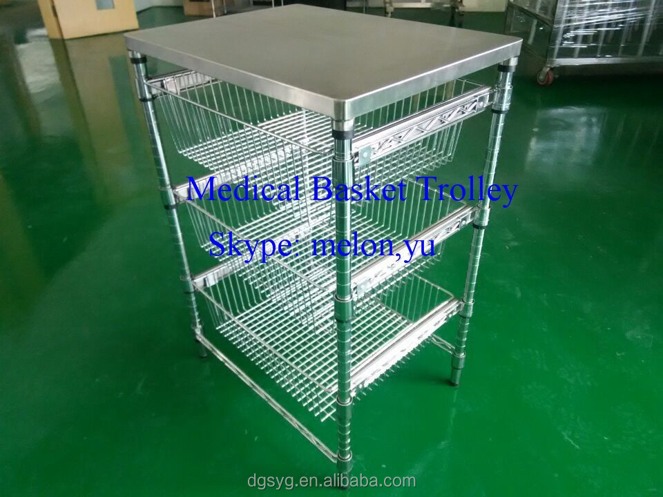 Hospital Basket Trolley, Hospital Basket Trolley Suppliers and ...