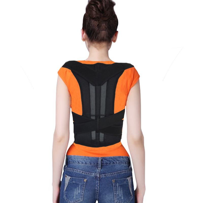 f35636474d Get Quotations · Wolesale Hot Sales MEN WOMEN Body Back Support Shoulder  Braces   Supports Belt Posture Corrector