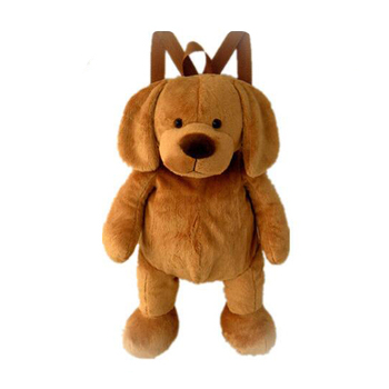 Cute Soft Toys Dog Backpack Kids Plush Toy Dog Bag for Child Baby Gift 1f5e14e1c43ad