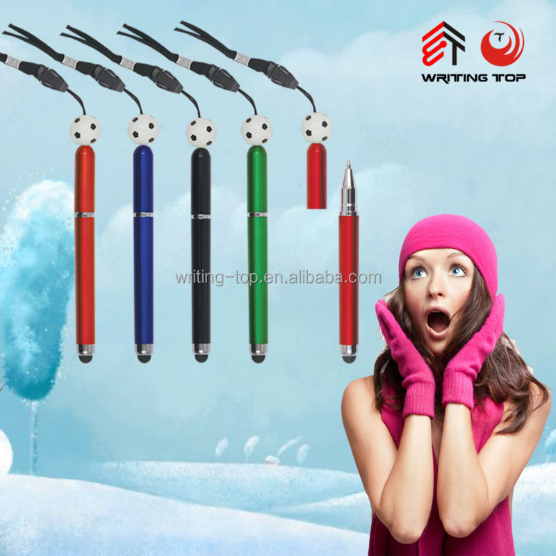 2017good quality hang neck pen for advertising