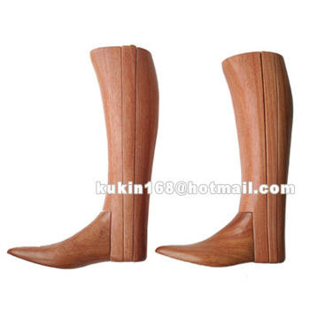 Custom Wooden Boots Tree,Long Boots