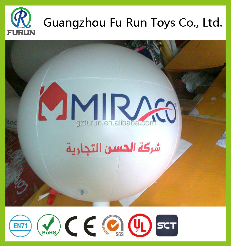 Hot Sale Promotion inflatable zeppelin helium balloon, remote control inflatable airship balloon