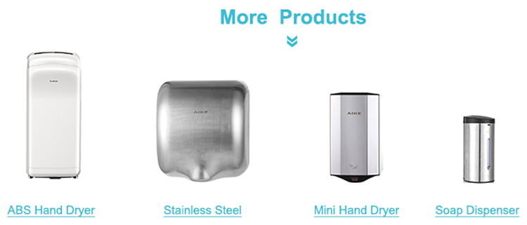 AIKE ผู้ผลิตขายส่งห้องน้ำติดผนังสแตนเลสตู้ทำสบู่เหลวมือ 500 มิลลิลิตร