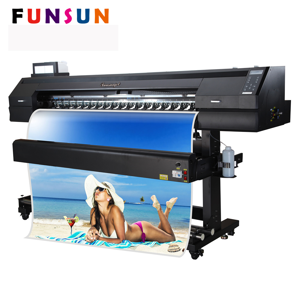 1 7m dx5 dx7 head 1440dpi car sticker printing machine