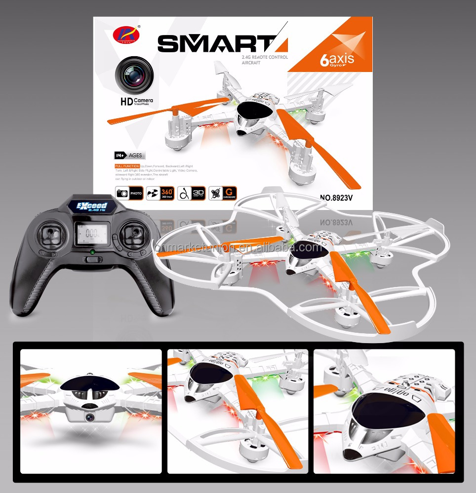 Wifi racing fpv drone quadcopter with hd camera