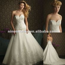 Signature Allure embroidery wedding dress