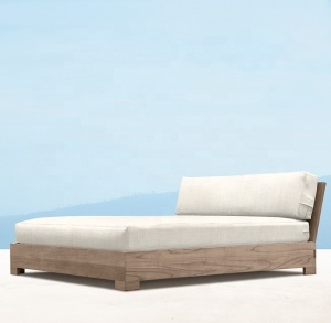 Luxury teak garden furniture bali daybed beach outdoor weather teak daybed