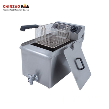 Factory Price Stainless Steel 18L Oil Capacity Induction Deep Fryer