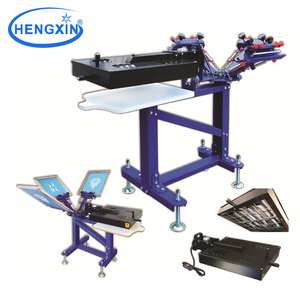 T shirt/Garment screen printing equipment factory