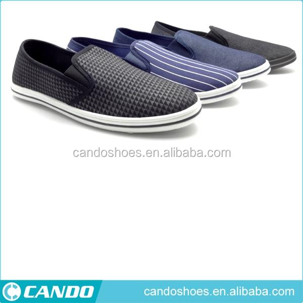 2016 venta caliente negro alpargata zapatos de lona durable de alta calidad para los hombres