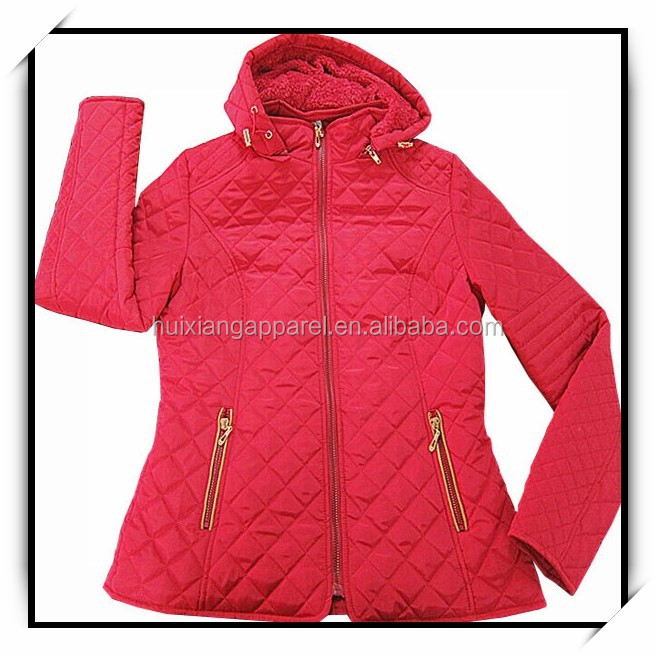 hot fancy wholesale fashion winter women quilted jacket
