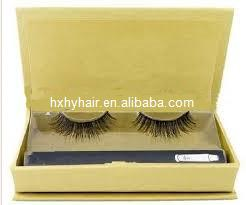 Thick false eyelash strip