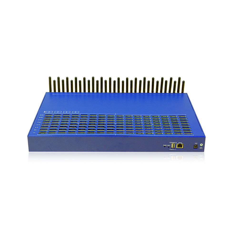 high quality change sims goip 32 port 256 voip to gsm gateway