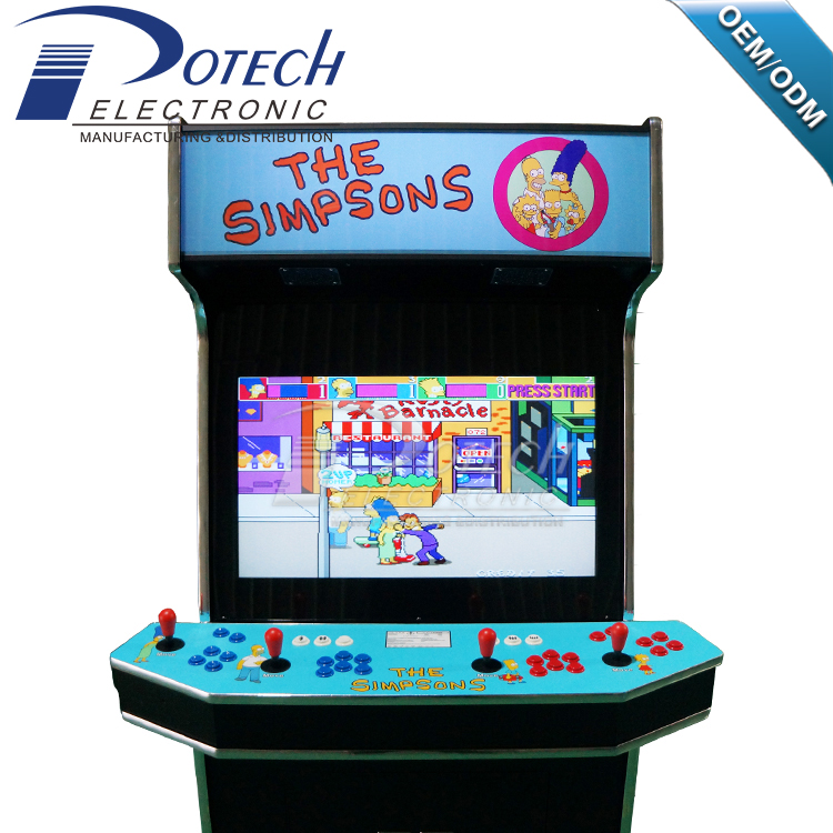 32 Inch Lcd 4 Player Arcade Machine,Video Game Machine,Empty Arcade Cabinet  - Buy Arcade Machine,Video Game Machine,Empty Arcade Cabinet Product on