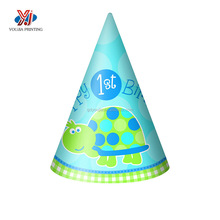 high quality beautiful children birthday paper cap factory