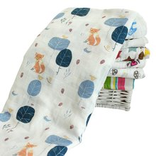 Zogift 100% Organic cotton Muslin Baby Swaddle Blanket