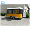 Mobile Crepe Stainless Steel Tralier Cheap Catering Food Cart /Truck with Low Price
