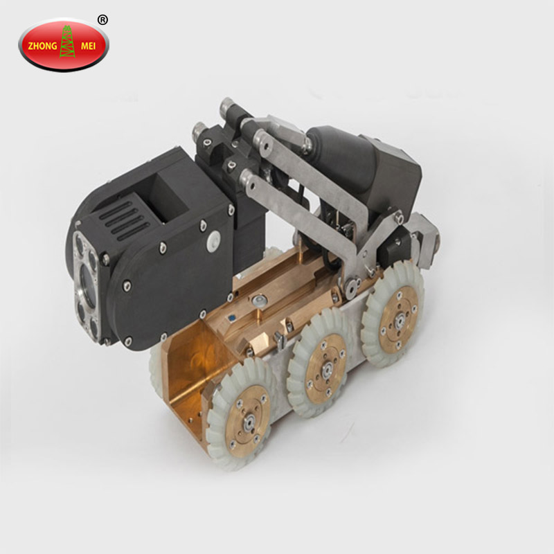 Television crawler camera inspection detection system for JD60B drainage pipeline