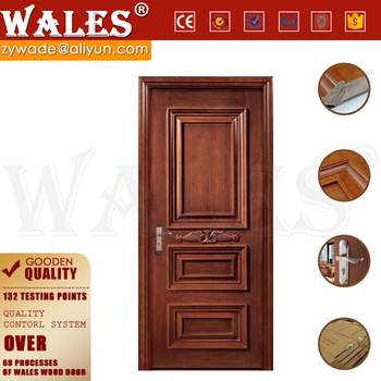 Low Cost Type Apartment Soundproof Mdf Tall Interior Doors