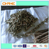 US type low carbon alloy steel link chain