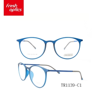 Tr1139 Customize Tr90 Vintage Optical Frames With Foot Case ...