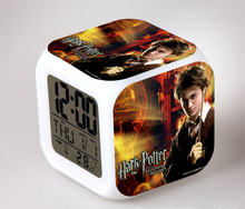 Harry Potter HA CONDOTTO L'<span class=keywords><strong>orologio</strong></span>, Film Led <span class=keywords><strong>Orologio</strong></span> <span class=keywords><strong>Digitale</strong></span>, Harry Potter HA CONDOTTO L'<span class=keywords><strong>orologio</strong></span> di Allarme con Schermo LCD