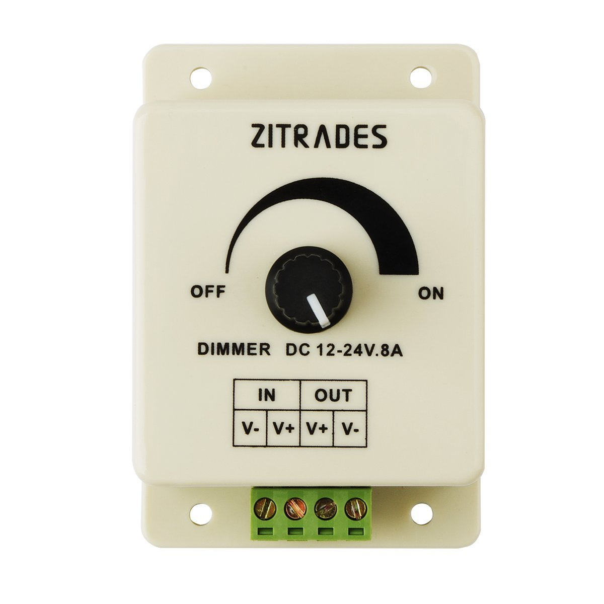 Cheap Dimming 12v Led Lights Find Deals On New 8a Light Lighting Brightness Control Dimmer Knob Get Quotations Pwm Controller For Or Ribbon 12 Volt 8 Ampadjustable
