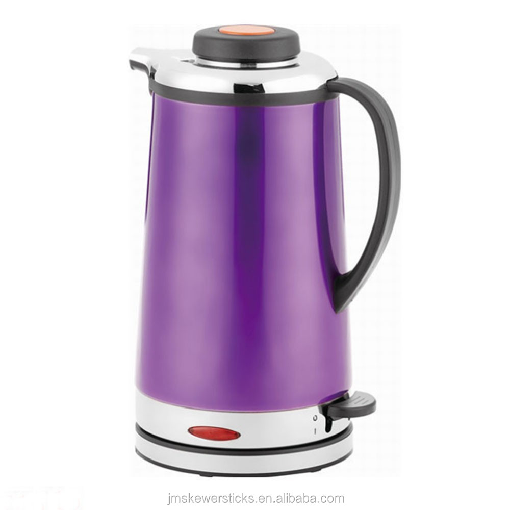 1L Purple and red wholesale used electric kettle