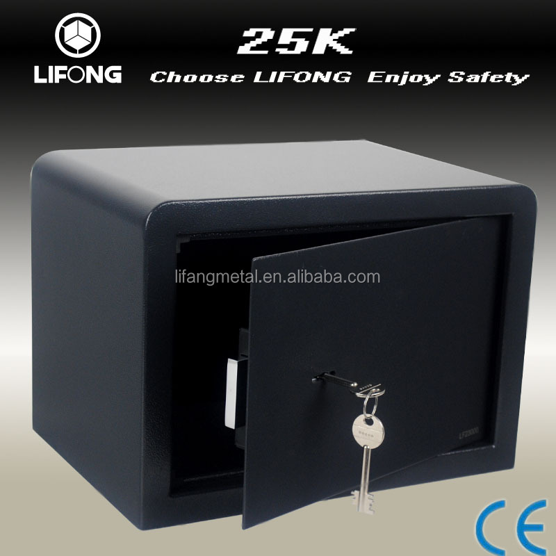 Cheap mechanical two key security safe box digital metal home safe cabinet