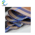 Rayon and polyester embroidery thread fabric for men's shirts