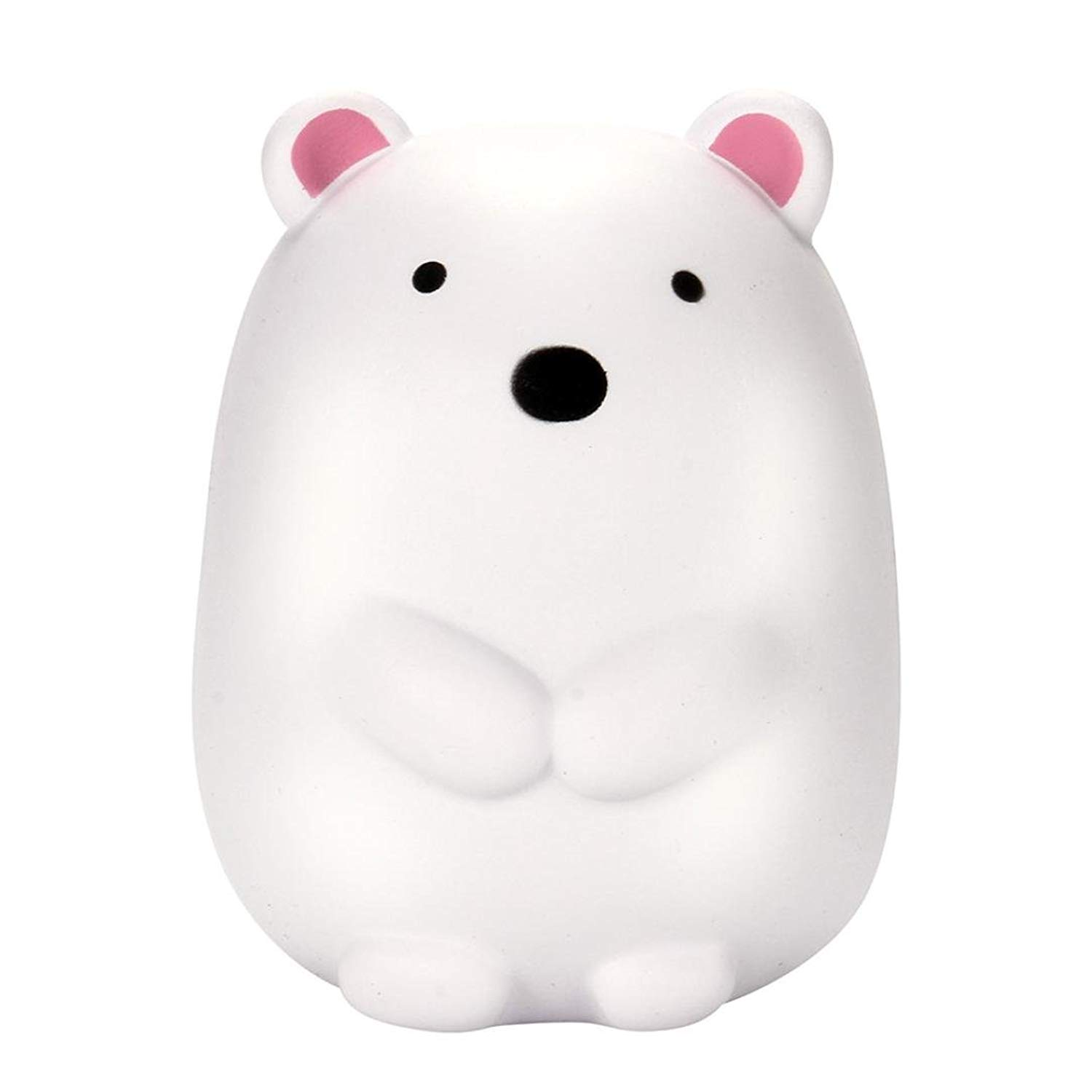 Malbaba Cute Cute Toys, 12cm Jumbo Squishy Cute Polar Bear Cream Scented Squishies Slow Rising Charm Toy for More Than 6 Years Old