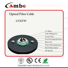 G652A1 SM SX 6 Core Fiber Optic Cable Price In Active device Termination