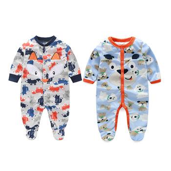 559604b3e3f4 2017 Spring Autumn Newborn Baby Boy Clothes Polar Fleece Baby ...