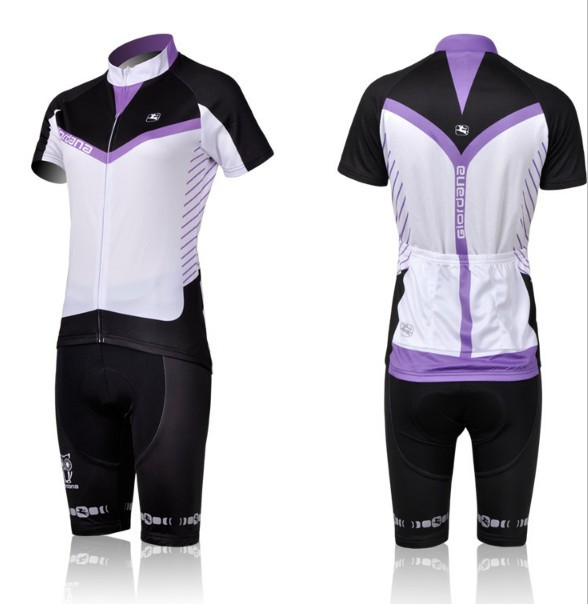 Get Quotations · 2011 woman giordana cycling clothing bicycle jersey  short-sleeve(bib) sets Ropa maillot 0a1a2014d
