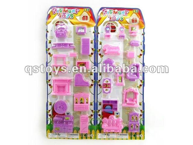 Casa De Bonecas Em Miniatura Conjunto Brinquedo De