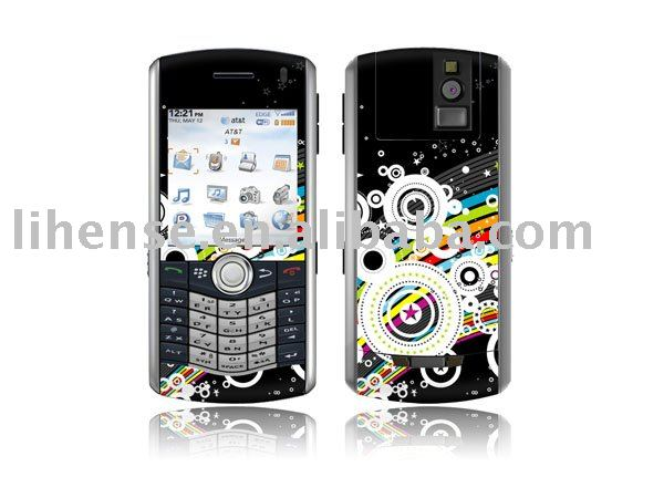 for blackberry pearl 8100,8110,8120,8130 PVC vinyle decal color skin sticker