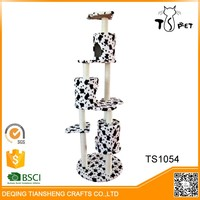 Factory Directly Provide High Quality Cat Tree Condo Wooden Pet House