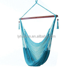 Jumbo Caribbean Style Polyester Rope Hammock Chair