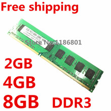 lifetime Warranty ! Brand New Sealed DDR3 1600 / PC3 12800 2GB 4GB 8GB Desktop RAM Memory compatible with DDR 3 1333 1066 MHz