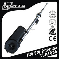 pcb amplified auto power radio antenna /mounting head interchangeable TLA1036 (OEM professional manufacturer)