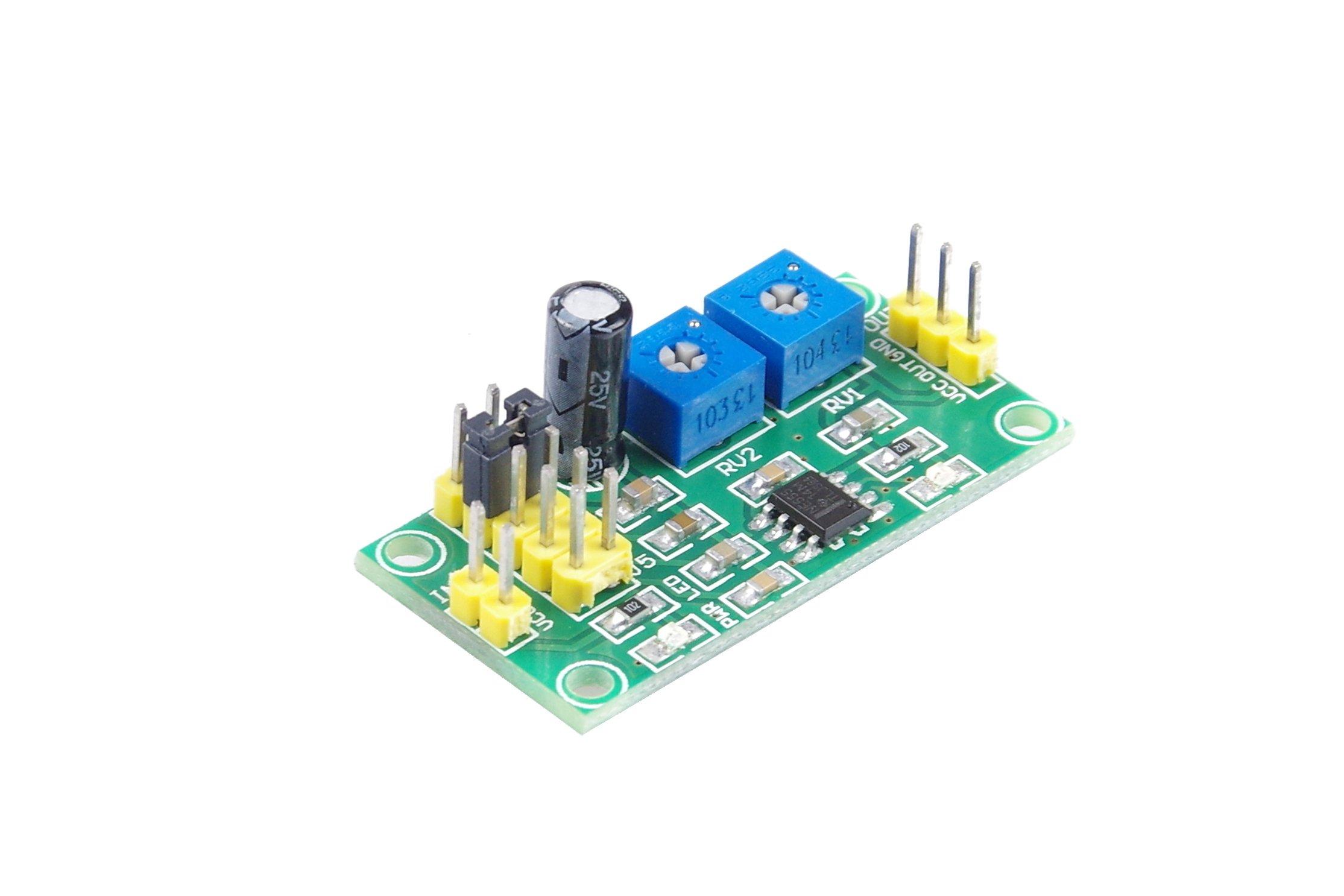 Monkeyjack Diy Ne555 Multi Channel Waveform Generator Module Sine Triangle Squarewave Circuit Square Wave