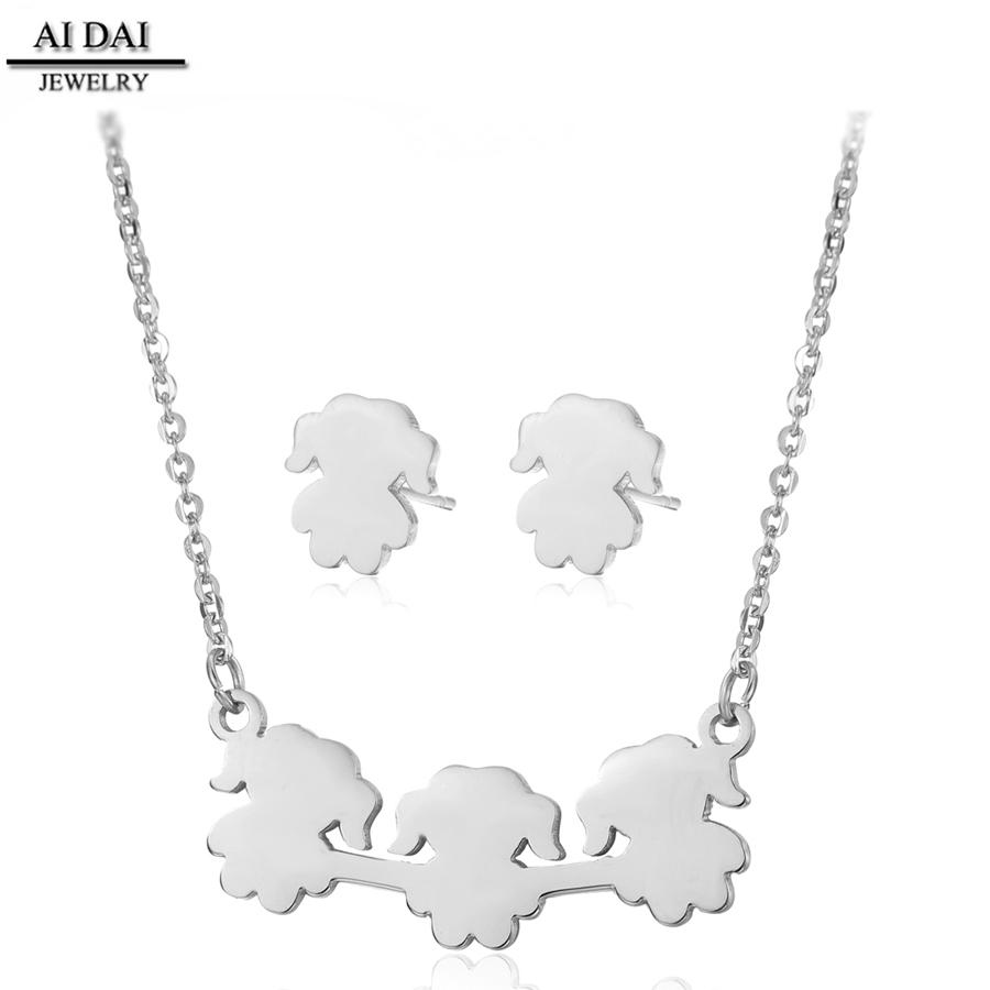 cd501152e231 Joyería de acero inoxidable al por mayor para niños regalo de año nuevo  collar pendiente joyería