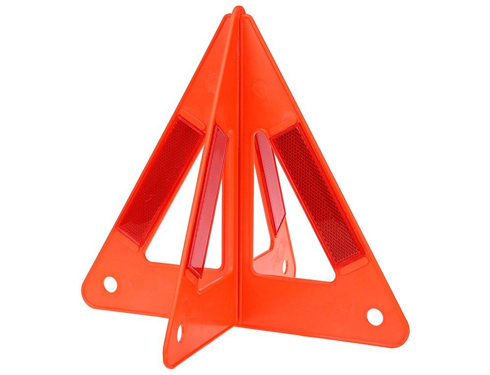 AUTOLOVER Car Safety Emergency Reflective Warning Triangle,Reflective Safety Warning Sign, Roadside Hazard Triangle Symbol Warning Sign , Early Warning Road Safety Triangle
